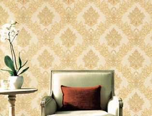 2018 hot salechinoiserie moisture resistant woven wallpaper
